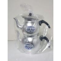 Alüminyum Çaydanlık (Alkkor 3 No Eleksollu Alüminyum Çaydanlık)